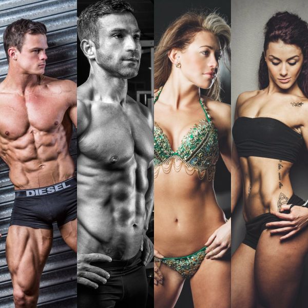 Pure Elite Fitness Comp Team